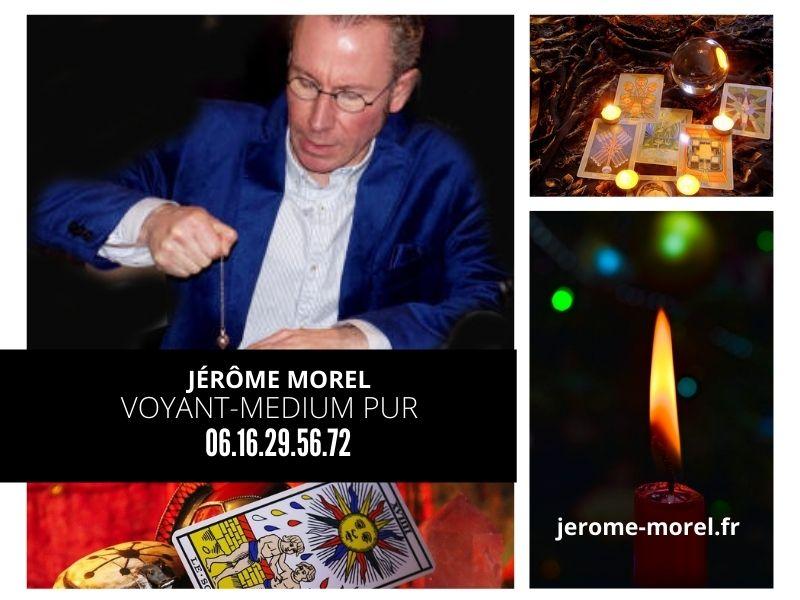 Le medium voyant reconnu Jérôme Morel