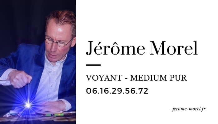 Jerome Morel intuition et clairvoyance
